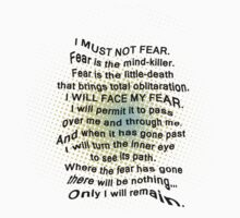 Litany Against Fear by JuniperMe