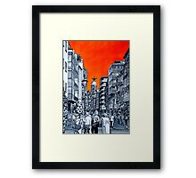 Splash Cities - Valladolid 01 Framed Print