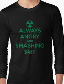 ALWAYS ANGRY! Long Sleeve T-Shirt