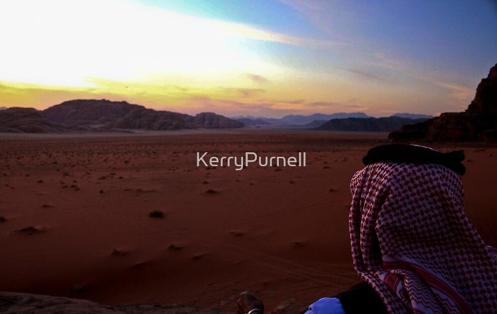 Sunset over Wadi Rum, Jordan by KerryPurnell
