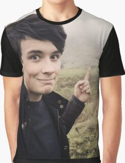 Walks with Dan Howell Graphic T-Shirt