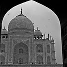 Archway to the Taj Mahal by KerryPurnell