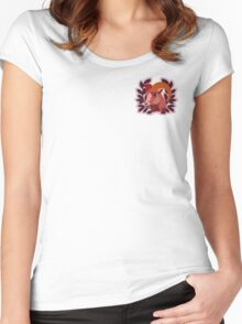 Goat Crest Logo Women's Fitted Scoop T-Shirt