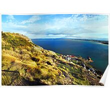 Beautiful Tasmania - view from a chairlift Poster