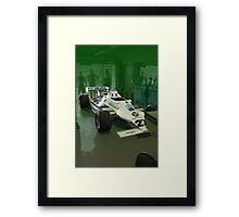 Resting Williams F1 Framed Print