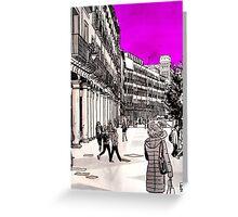 Splash Cities - Valladolid 02 Greeting Card