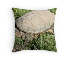 Common Snapping Turtle  Throw Pillow
