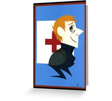 John Watson Paper Portrait Greeting Card