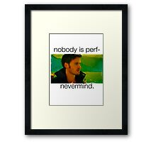 Captain Hook- OUAT Framed Print