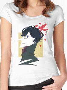 Sherlock Paper Tee Women's Fitted Scoop T-Shirt