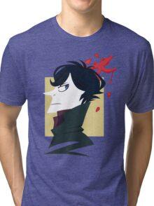 Sherlock Paper Tee Tri-blend T-Shirt
