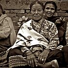 Newari Woman by Valerie Rosen