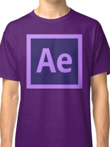 After Effect  CS6 Logo Classic T-Shirt