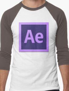 After Effect  CS6 Logo Men's Baseball ¾ T-Shirt