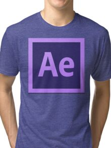 After Effect  CS6 Logo Tri-blend T-Shirt