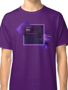 After Effects CS6 Splash Screen Classic T-Shirt
