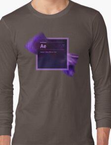 After Effects CS6 Splash Screen Long Sleeve T-Shirt