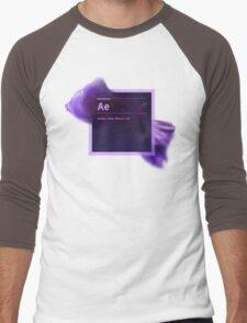 After Effects CS6 Splash Screen Men's Baseball ¾ T-Shirt