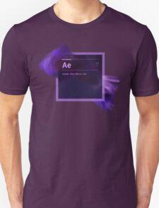After Effects CS6 Splash Screen T-Shirt