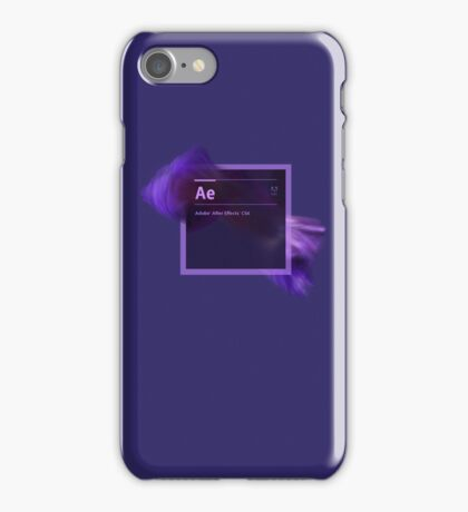 After Effects CS6 Splash Screen iPhone Case/Skin
