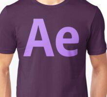 After Effects CS6 Letters Unisex T-Shirt
