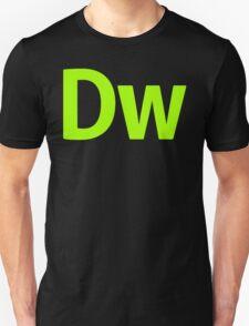 DreamWeaver CS6 Letters T-Shirt
