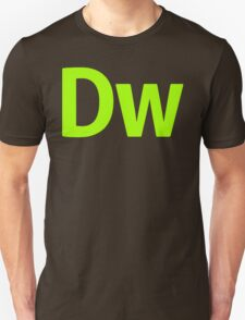 DreamWeaver CS6 Letters T-Shirt