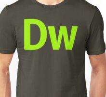DreamWeaver CS6 Letters Unisex T-Shirt