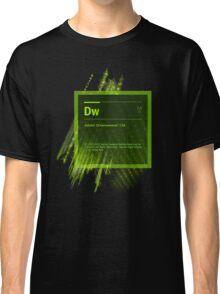 DreamWeaver CS6 Splash Screen Classic T-Shirt