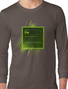 DreamWeaver CS6 Splash Screen Long Sleeve T-Shirt