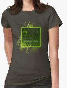 DreamWeaver CS6 Splash Screen Womens Fitted T-Shirt