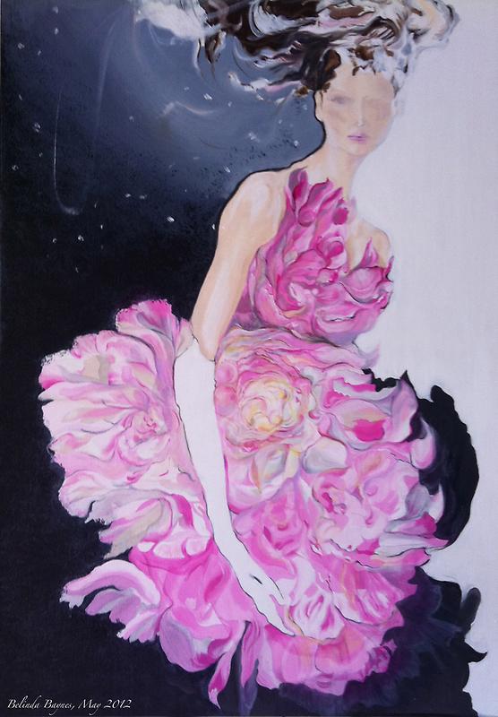 Femme de fleur by Belinda Baynes