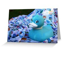 Tiffany Duck Greeting Card