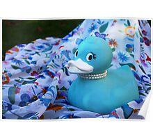 Tiffany Duck Poster
