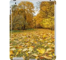 Yellowed leaves iPad Case/Skin