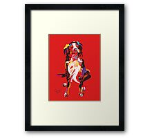 Dog Iggy Framed Print