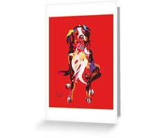 Dog Iggy Greeting Card