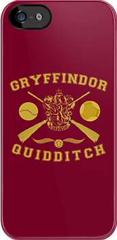 Gryffindor Quidditch (Gold) by Lumos ϟ Nox