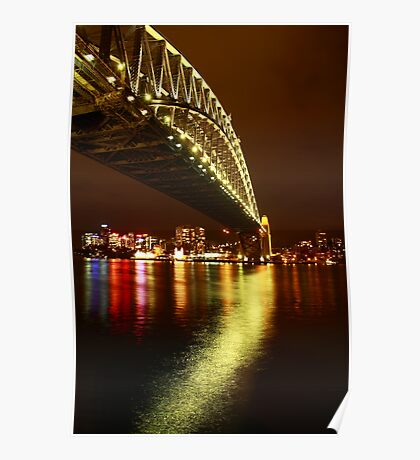 Under the Sydney Harbour Bridge Poster