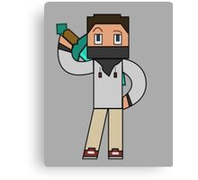 Minecraft character 01 Canvas Print