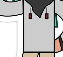 Minecraft character 01 Sticker