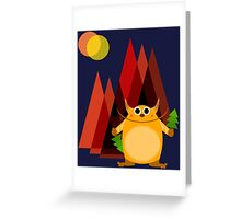 Somewhere in the woods Greeting Card