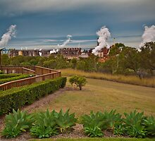 Queensland Aluminium Refinery Gladstone by PhotoJoJo