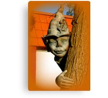 The tree elf Canvas Print