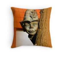 The tree elf Throw Pillow