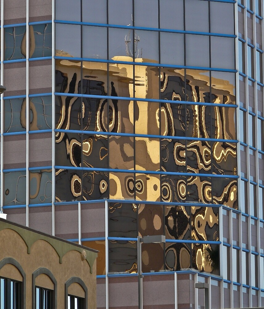 Modern Art Reflections by Linda Sparks