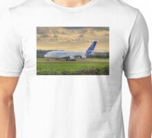 Airbus A380 - Evening Taxi Unisex T-Shirt