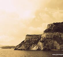 The Old Fortress Corfu town, Greece by fruitcake
