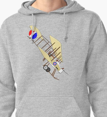 A Royal Flying Corps Vickers F.B.5, T-shirt, etc. design Pullover Hoodie