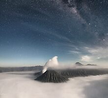 Gunung Batok by Moonlight by Mieke Boynton